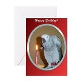 Parrot african grey Stationery