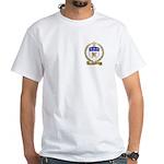 AMIOT Family Crest White T-Shirt