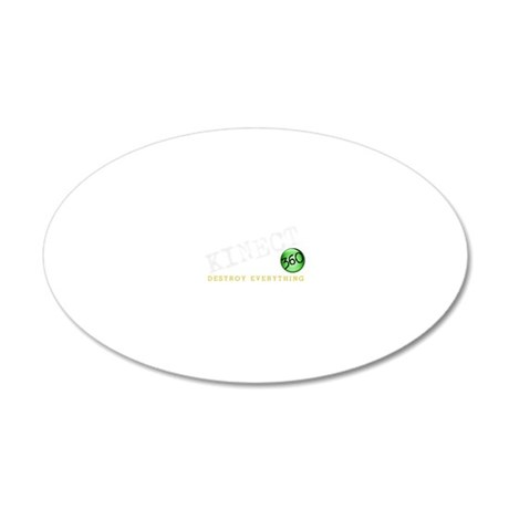 kinect 20x12 Oval Wall Decal