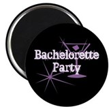 Bachelorette Party - Purple M Magnet