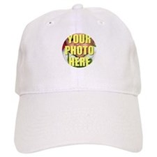Personalized Circular Image Baseball Baseball Cap