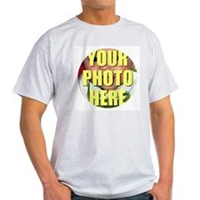 Personalized Circular Image T-Shirt