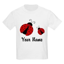 Ladybugs Red Personalized T-Shirt