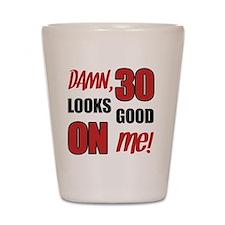 Funny 30th Birthday Gag Gift Shot Glass