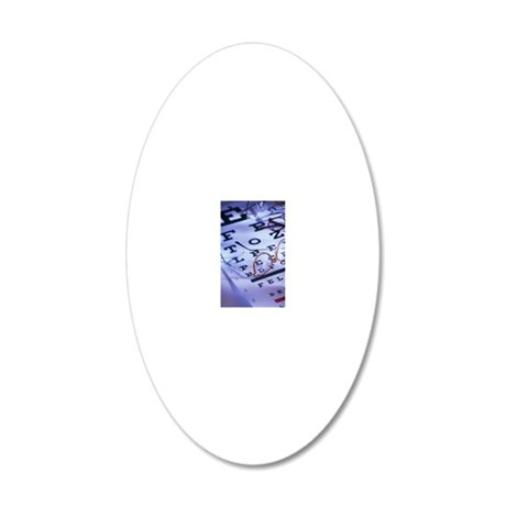 Vision Correction 20x12 Oval Wall Decal