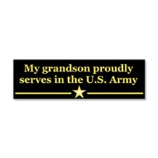 Cute Army Car Magnet 10 x 3