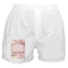 light pink cherry-blossom Boxer Shorts