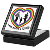 Love Makes A Family Keepsake Box