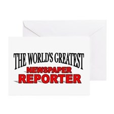 """""""The World's Greatest Newspaper Reporter"""" Greeting"""