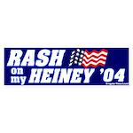 Rash on My Heiney Bumper Sticker