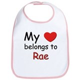 My heart belongs to rae Bib
