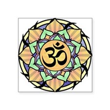 Rainbow Lotus Aum Sticker