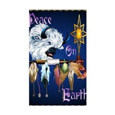 Peace On Earth PosterP Decal