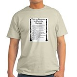 Clarinet Top 10 T-Shirt
