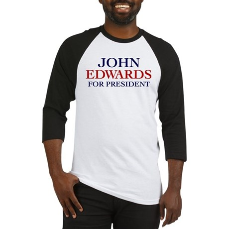 John Edwards for President Baseball Jersey