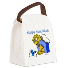 happy_hanukkah_16a Canvas Lunch Bag