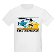 Save Our Oceans Kids T-Shirt