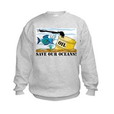 Save Our Oceans Sweatshirt