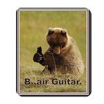 B..air guitar Mousepad