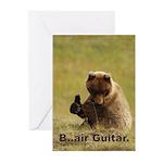 B..air guitar Greeting Cards (Pk of 10)