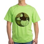 Baldhead English Trumpeter Green T-Shirt