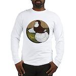 Baldhead English Trumpeter Long Sleeve T-Shirt