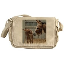 Newborn Donkey Foal Messenger Bag