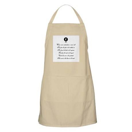 Women were Created BBQ Apron