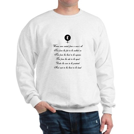 Women were Created Sweatshirt