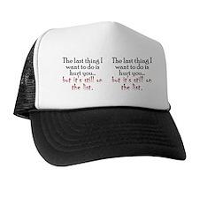hurtyou_mug Trucker Hat