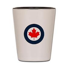 RCAF ROUNDEL Shot Glass