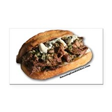 steaksandwich Rectangle Car Magnet