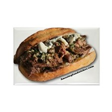 steaksandwich Rectangle Magnet