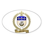 GERRIOR Family Crest Oval Sticker
