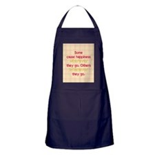 causehappiness2_rnd Apron (dark)