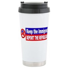 Deport the Republicans Travel Mug