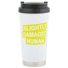 DAMAGED Ceramic Travel Mug