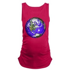 0planet_earth Maternity Tank Top