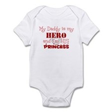 My Daddy is my HERO and i'm h Onesie