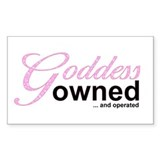 Owned and Operated Rectangle Decal