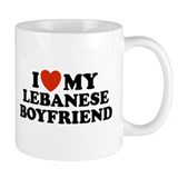 I Love My Lebanese Boyfriend Small Mug
