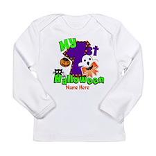 My First Halloween Long Sleeve Infant T-Shirt