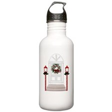 Christmas Front Door Water Bottle