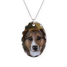 boscoe Necklace Oval Charm