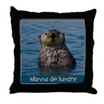 Wanna Do Lunch Throw Pillow
