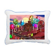 Candyland Rectangular Canvas Pillow