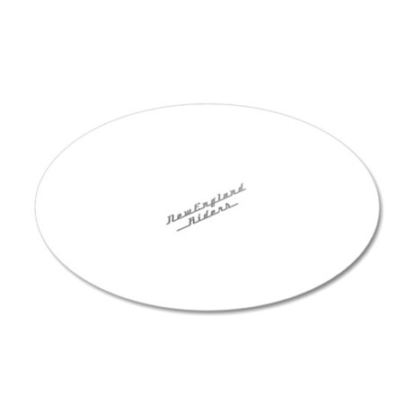 NER-Chrome-logo_101127a 20x12 Oval Wall Decal