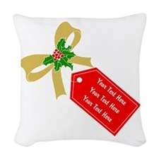 Personalize It Woven Throw Pillow
