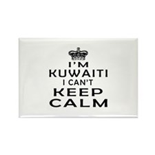 I Am Kuwaiti I Can Not Keep Calm Rectangle Magnet