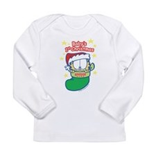 Garfield Baby 1st Christmas Long Sleeve Infant T-S